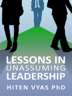 Lessons in Unassuming Leadership