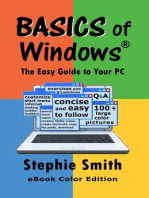 BASICS of Windows The Easy Guide to Your PC