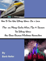 How To See Walt Disney World Like a Local