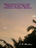 Characters From the Flight of the Maita Science Fiction Series