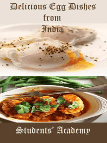 Delicious Egg Dishes from India