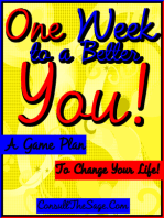 One Week to a Better You