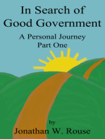 In Search of Good Government
