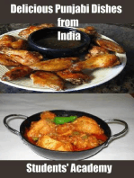Delicious Punjabi Dishes from India