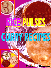 Rice, Pulses, Curry Recipes