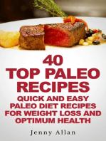40 Top Paleo Recipes