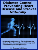 Diabetes Control- Preventing Heart Disease and Strokes Naturally