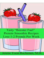 """Tasty """"Booster Fuel"""" Protein Smoothie Recipes"""
