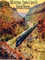 1880 Atchison, Topeka & Santa Fe Railroad Directory Topeka, Kansas