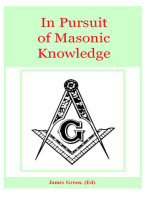 In Pursuit of Masonic Knowledge