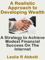 A Realistic Approach To Developing Wealth