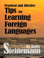 Practical and Effective Tips for Learning Foreign Languages