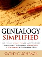 Genealogy Simplified