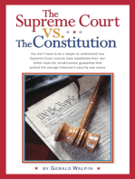 The Supreme Court vs. The Constitution