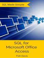 SQL for Microsoft Office Access