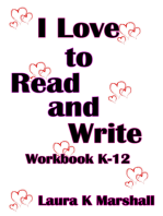 I Love to Read and Write
