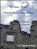 Writing About People, Places, and Things