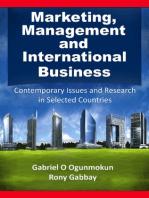 Marketing, Management and International Business