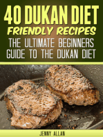 40 Dukan Diet Friendly Recipes