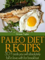 Paleo Diet Recipes:30 Foods you will Absolutely Fall in love with for Breakfast