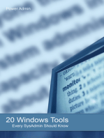 20 Windows Tools Every SysAdmin Should Know