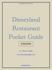 Disneyland Restaurant Pocket Guide UPDATED!