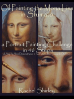 Oil Painting the Mona Lisa in Sfumato