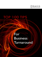 Top 100 Tips for Business Turnaround
