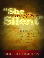 """""""She Must Be Silent"""""""