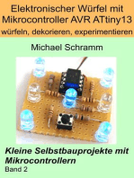 Elektronischer Würfel mit Mikrocontroller ATtiny13