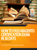 How to pass Magento Certification Exam in 30 days