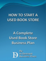 How To Start A Used Book Store