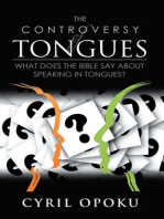 The Controversy of Tongues