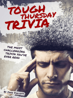 Tough Thursday Trivia; The Most Challenging Trivia You've Ever Read