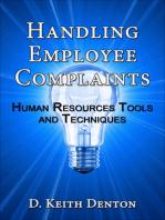 Handling Employee Complaints