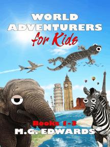 World Adventurers for Kids Books 1-3