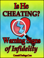 Is He Cheating On Me? Warning Signs of Infidelity