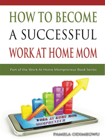 How To Become A Successful Work At Home Mom