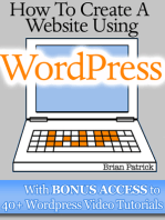 How To Create A Website Using Wordpress With Bonus Access to 40+ Wordpress Video Tutorials