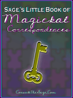 Sage's Little Book of Magickal Correspondences