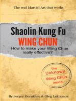 Shaolin Kung Fu Wing Chun