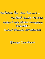Petition for Certiorari – Patent Case 99-396 - Federal Rule of Civil Procedure 12(h)(3) Patent Assignment Statute 35 USC 261
