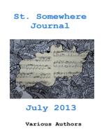 St. Somewhere Journal, July 2013