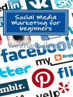Social Media Marketing for beginners