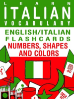 Learn Italian Vocabulary