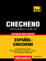 Vocabulario Español-Checheno