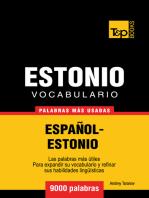 Vocabulario Español-Estonio