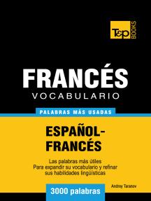 Vocabulario Español-Francés: 3000 Palabras Más Usadas