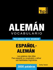 Vocabulario Español-Alemán: 3000 Palabras Más Usadas