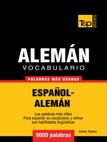 Vocabulario Español-Alemán: 9000 Palabras Más Usadas
